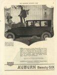 1920 9 11 AUBURN Beauty SIX AUBURN AUTOMOBILE COMPANY AUBURN, INDIANA SATURDAY EVENING POST page 99
