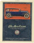 1920 3 11 Tourister – Cole Aero-EIGHT EXCLUSIVE DESIGNS-ADVANCED ENGINEERING 15,000 MILES ON TIRES COLE MOTOR CAR COMPANY INDIANAPOLIS, U.S.A. LIFE