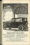 1920 9 LEXINGTON Summer Comfort in Lex-Sedan Lexington Motor Co. Connersville, Indiana AUTOMOBILE TRADE JOURNAL September, 1920 page 251