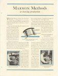 1920 6 23 MARMON MARMON METHODS in bearing production Nordyke & Marmon Company Indianapolis, Indiana MOTOR WORLD June 23, 1920