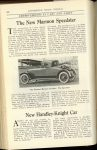 1920 8 MARMON The New MARMON Speedster Nordyke & Marmon Company Indianapolis, Indiana AUTOMOBILE TRADE JOURNAL August, 1920 page 232