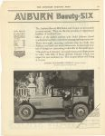 1921 2 12 AUBURN AUTOMOBILE COMPANY, AUBURN, IND SATURDAY EVENING POST page 103
