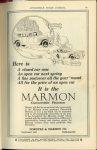 1923 1 MARMON It is the MARMON Convertible Pheaton Nordyke & Marmon Company Indianapolis, Indiana AUTOMOBILE TRADE JOURNAL January, 1923 page 75