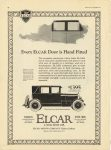 1924 1 ELCAR Every ELCAR Door is Hand Fitted ELCAR ELKHART MOTOR COMPANY Elkhart, Indiana MOTOR January, 1924 page 64