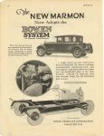 1925 10 MARMON The New MARMON Now Adopts the Bowen System of Chassis Lubrication Nordyke & Marmon Company Indianapolis, Indiana MoToR October, 1925 page 10
