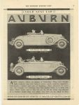 1927 4 16 8-88 & 8-77 Roadster AUBURN AUTOMOBILE COMPANY AUBURN, IND SATURDAY EVENING POST page 71