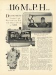 1928 12 DUESENBERG Duesenberg 265 Horse Power Car 116 Miles Per Hour By Harold F. Blanchard MoToR page 41