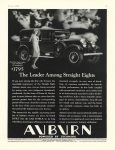 1929 6 THE LEADER Among Straight Eights AUBURN AUTOMOBILE COMPANY AUBURN, IND page 45