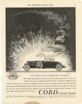 1930 Cord AUBURN AUTOMOBILE COMPANY, AUBURN, INDIANA 4 12 p 51