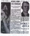 1933 9 12 ARTHUR C. NEWBY RITES WEDNESDAY AC NEWBY Obituary THE INDIANAPOLIS NEWS page 3