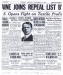 1933 9 12 ARTHUR C. NEWBY PIONEER BICYCLE, AUTO MAKER, DIES THE INDIANAPOLIS STAR page 1