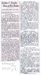 1933 9 12 ARTHUR C. NEWBY PIONEER BICYCLE, AUTO MAKER, DIES Arthur C. Newby Dies at His Home THE INDIANAPOLIS STAR page 9