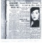 1933 9 12 ARTHUR NEWBY PIONEER AUTO BUILDER, DIES THE INDIANAPOLIS TIMES page 3