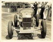 1933 Indy 500 GILMORE Special front