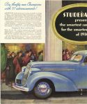1935 11 30 STUDEBAKER STUDEBAKER presents smartest cars of 1936 – for the Smartest Buyers of 1936 Studebaker South Bend, Indiana page 44 left
