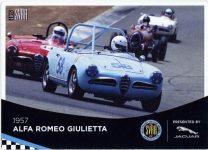 1957 ALFA ROMEO Giulietta Spider SVRA card