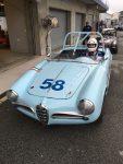 2016 4 9 1957 ALFA ROMEO Giulietta Spider CDT driving HMSA Mazda Raceway Laguna Seca, CAL April