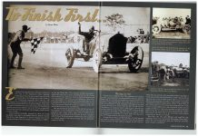 2014 7 To Finish First by Brian Blain VINTAGE RACECAR July 2014 pages 42 & 43