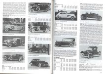 1930 Cord L-29 convertible sedan: 1930 Cord, L-29, de Sakhnoffsky coupe: 1930 Cord l-29, town car, LeBaron: 1931 Cord L-29 sedan: 1932 Cord L-29, convertible sedan: 1936 cord 810, convertible coupe: 1936 Cord 810 Beverly sedan: 1937 Cord 812 Westchester sedan Cord AUBURN AUTOMOBILE COMPANY, AUBURN, INDIANA Standard Catalog of American Cars page 378 & 379