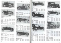 IND DAVIS Davis Standard Catalog of American Cars pages 418 & 419