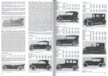ELCAR ELKHART CARRIAGE & MOTOR CAR CO. Elkhart, Indiana Standard Catalog of American Cars page 520 & 521