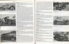 MARMON Nordyke & Marmon Company Indianapolis, Indiana ENCYCLOPEDIA OF MOTOR CARS 1885 to the Present Edited by G.N. Georgano pages 398 & 399