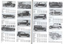 PREMIER Premier Motor Mfg. Co. Indianapolis, Indiana Standard Catalog of American Cars pages 1244 & 1245