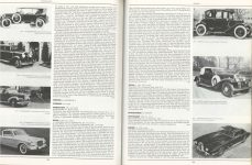 STUTZ Stutz Motor Car Company of America, Inc. Indianapolis, Indiana ENCYCLOPEDIA OF MOTOR CARS 1885 to the Present Edited by G.N. Georgano pages 598 & 599
