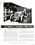 1955 7-8 NATIONAL Los Angeles to Sacramento ROAD RACE FROM MERCURY THE OFFICIAL PUBLICATION OF THE LOS ANGELES ATHLETIC CLUB 1913 Horseless Carriage GAZETTE July-August 1955 AACA Library page 38