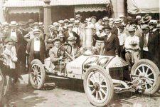 1916 8 13 ROMANO racecar Rea Lentz driver Colorado Springs Penrose Cup winner 160813AproxUnknownSource LogoArtemisimageCom