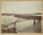 1885 ca. Red Wing, Minnesota bridge