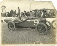 1919 DUESENBERG Driver Eddie O'Donnell Indy car Car 9 May 1919 4-cyl walking-beam engine