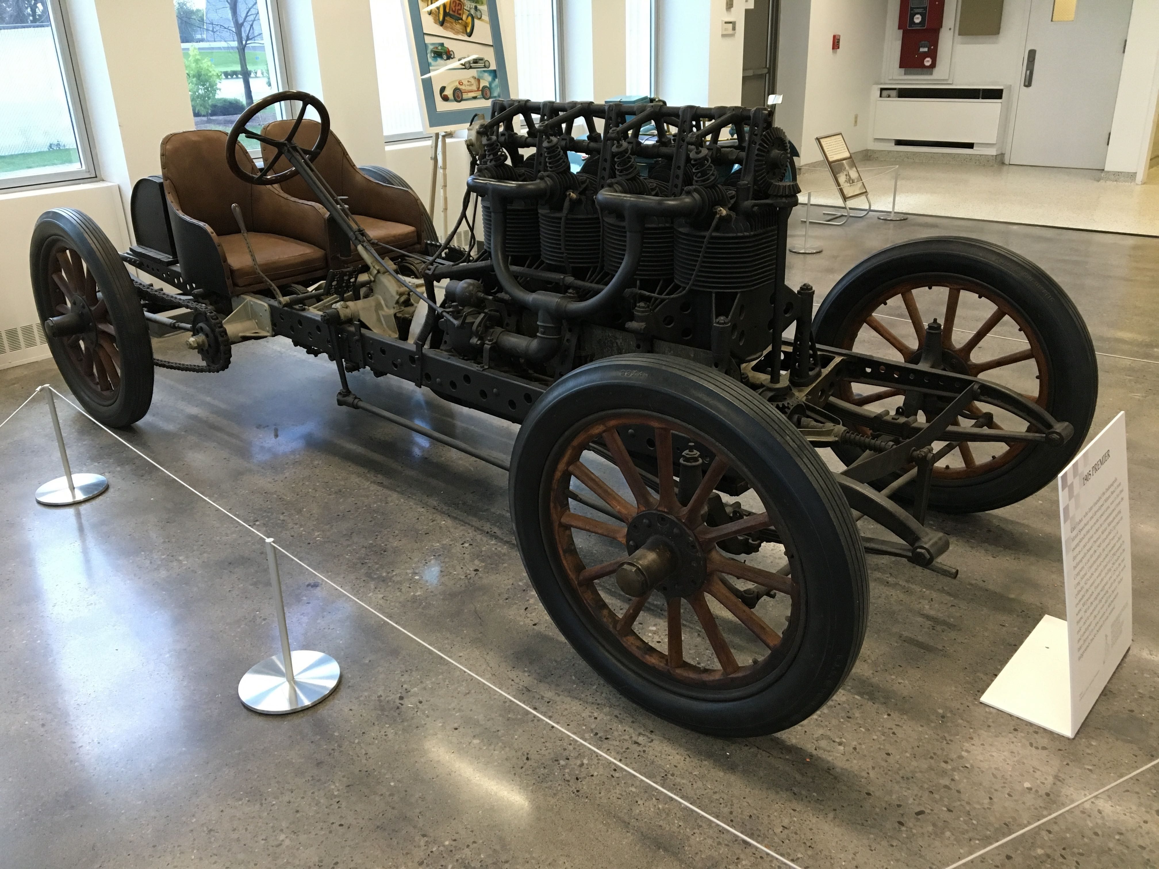 1905 PREMIER race car IMS R 6 16 - Chuck's Toyland
