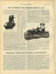 1908 11 5 ODDITIES THE AUTOMOBILE FOR JUVENILES COMES AT LAST NORTHWEST WANTS AND IS BUYING AUTOS FOR CASH THE AUTOMOBILE November 5, 1908 page 648