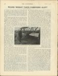 1908 10 22 WILBUR WRIGHT TAKES PASSENGERS ALOFT By WF Bradley U of MN Library THE AUTOMOBILE 8.75″x11.25 page 578