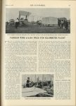 "1908 1 16 FARMAN WINS $10,000 PRIZE FOR KILOMETER FLIGHT U of MN Library THE AUTOMOBILE 8.25""x11.75"" page 71"