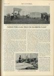"1908 1 16 FARMAN WINS $10,000 PRIZE FOR KILOMETER FLIGHT U of MN Library THE AUTOMOBILE 8.25""x11.75"" page 71"