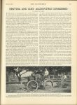 1908 4 30 ODD RENTING AND COST ACCOUNTING By LORENZO B. BAKER. How Henry Ford Utilies and Automobile Plow of His Own Design on His Farm Near Detroit THE AUTOMOBILE April 30, 1908 page 611