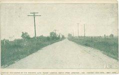 1910 ca race course Creston IND Postcard