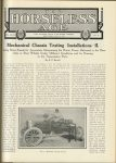 1911 5 10 Mechanical Chassis Testing Installations–II THE HORSELESS AGE U of MN Library page 807