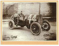1912 5 4 FIAT Red SP-4/FP-1/78.718 mph ave Teddy Tetzlaff rm: George Hill Santa Monica Road Race