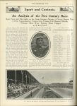 1911 6 7 INDY 500 An Analysis of the Five Century Race THE HORSELESS AGE U of MN Library page 986
