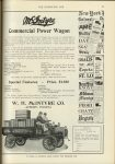 1911 4 26 McINTYRE Commercial Power Wagon Special Features – Price $1350 McIntyre IND W.H. McIntyre Co. Auburn, Indiana THE HORSELESS AGE April 26, 1911 page 703