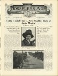 1912 5 8 Teddy Tetzlaff Sets a New World's Mark at Santa Monica HORSELESS AGE May 8, 1912 8.5″x12″ page 835