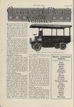 1913 1 2 ELECTRIC TRUCKS COMMERCIAL ELECTRIC VEHICLES GENERAL VEHICLES CO.'S TRUCK FOR EXPRESS SERVICE. Development of Electric Truck, Platform Type Body Popular, Moderate Speeds favored. MOTOR AGE January 2, 1913 Antique Automobile Club of America Library page 26
