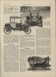 1913 10 23 ELECTRIC ARTICLES FRITCHLE AND GRINNELL. SIDE AND DFRONT VIEWS OF NEW WOODS ROADSTER, $2,500. FRITCHLE TORPEDO ROADSTER, $2,400. MOTOR AGE October 23, 1913 Antique Automobile Club of America Library page 19