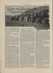 1913 10 23 Electric Articles Enter the Electric for Marathon Honors By J.C. Burton MOTOR AGE October 23, 1913 Antique Automobile Club of America Library page 26