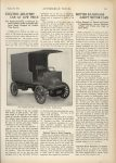 1913 8 30 ELECTRIC TRUCKS DELIVERY CAR AT LOW PRICE, VAN AUKEN ELECTRIC DELIVERY WAGON, PRICE $1,000 AUTO TOPICS Antique Automobile Club of America Library August 30,1913 page 193