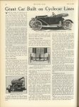 1913 6 12 CYCLE CAR Grant Car Built on Cyclecar Lines MOTOR AGE June 12, 1913 page 36
