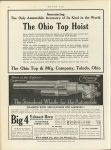 1913 4 17 ODD Announcing The Only Automobile Accessory of its Kind in the world The Ohio Top Hoist. The Ohio Top & Mfg, Company Toledo, Ohio MOTOR AGE April 17, 1913 page 74